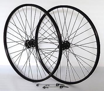 73,66 cm para bicicleta de ruedas de llanta de cámara hueca Disc Pro negro Shimano Deore XT756 color plateado negro: Amazon.es: Deportes y aire libre
