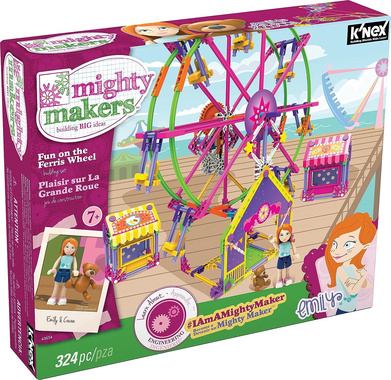 K'Nex 43534 SetK'Nex Mighty Makers Fun on The Ferris Ferris Ferris Wheel Bausatz 95d5db