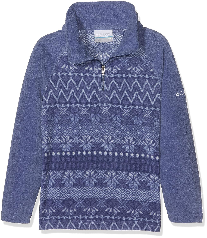 Columbia - Glacial II Fleece Print, Felpa 1/2 Zip Unisex - Adulto Columbia Sportswear 1618271