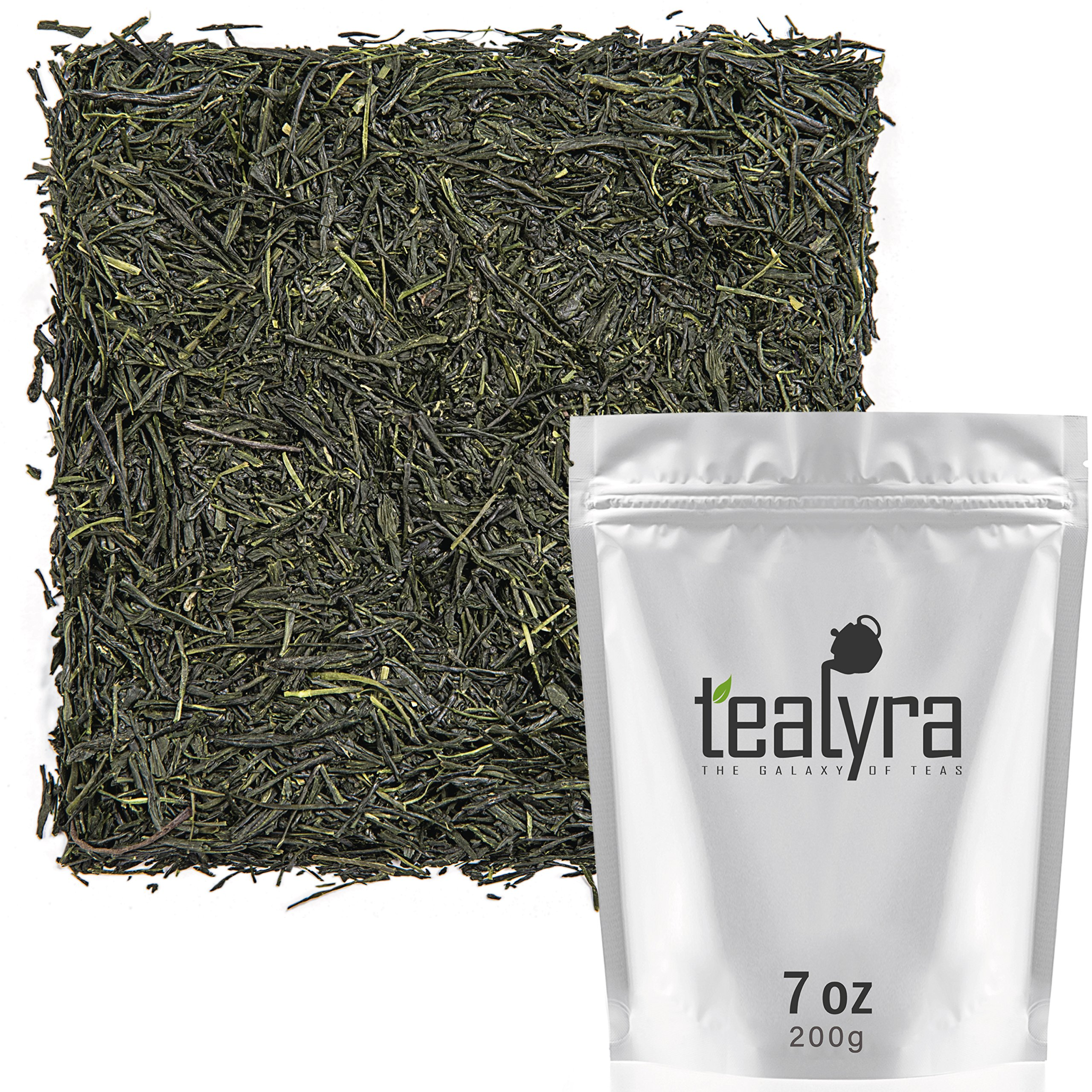 Tealyra - Handmade Premium 1st Flush - Gyokuro Green Tea - Organically Grown in Yame Japan - Loose Leaf Tea - Caffeine Medium - 200g (7-ounce)