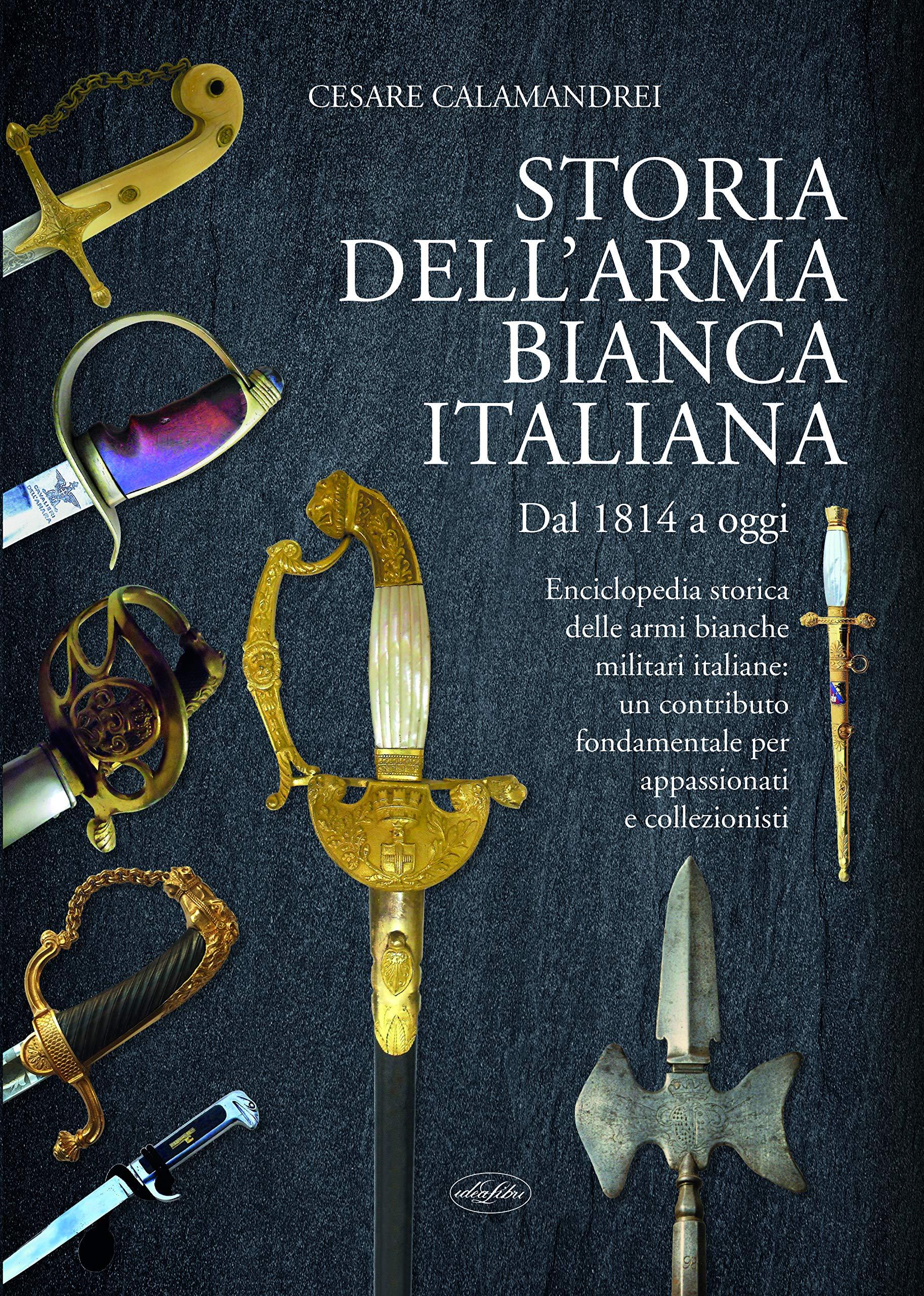Storia dellarma bianca italiana: Amazon.es: Calamandrei, Cesare: Libros en idiomas extranjeros