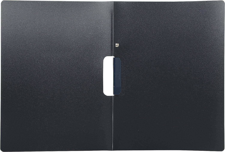 antracite Cartellina porta candidature formato DIN A4/PP colore