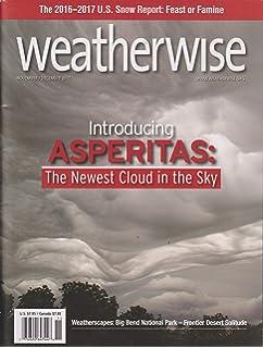 Weatherwise Magazine November/December 2017