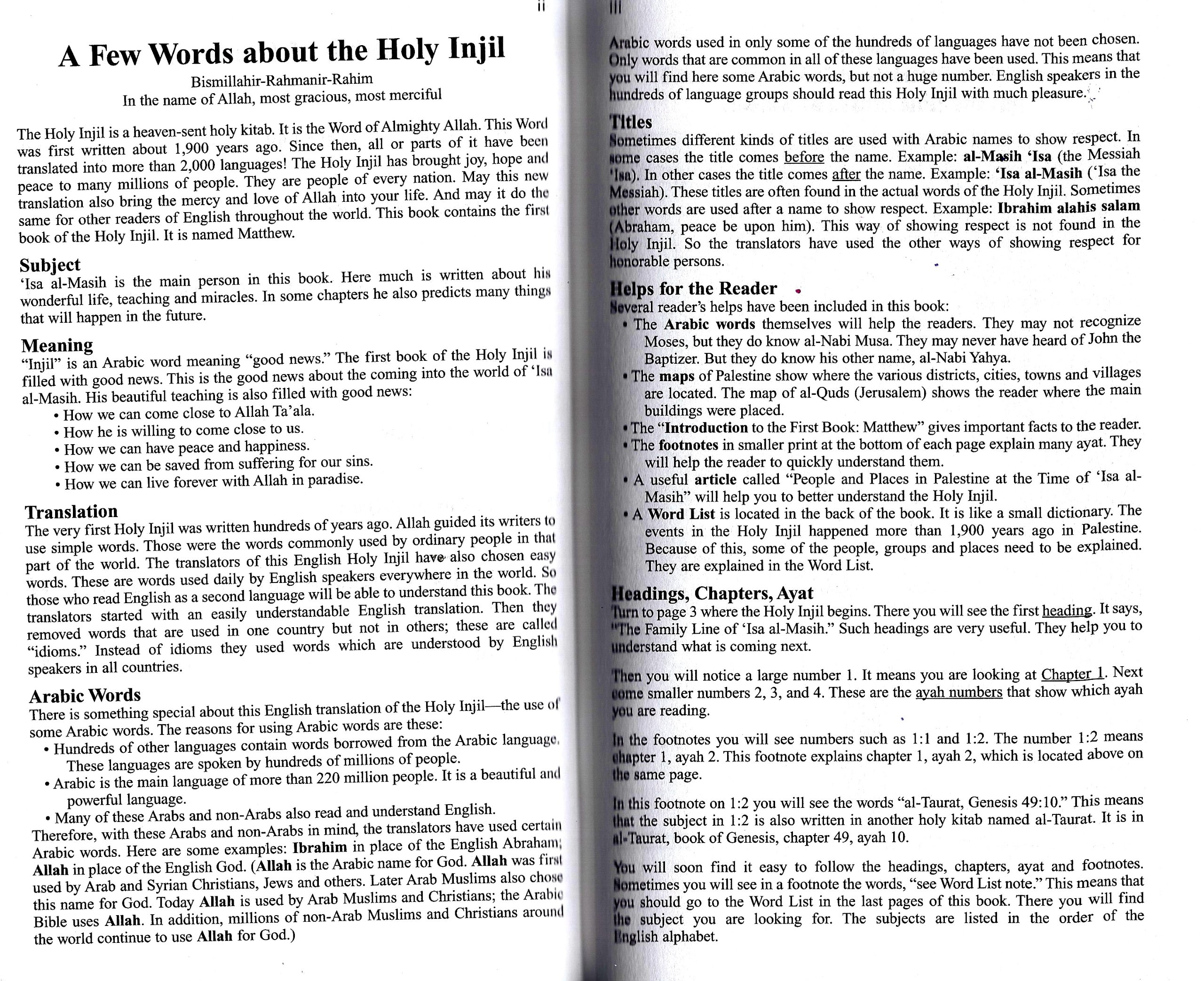 the holy injil first book matthew tajik injil com books