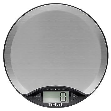 Tefal BC1500V0 Mesa Báscula electrónica de cocina Negro, Plata - Báscula de cocina (Báscula