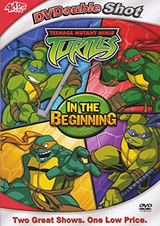 Teenage Mutant Ninja Turtles: In the Beginning USA DVD ...