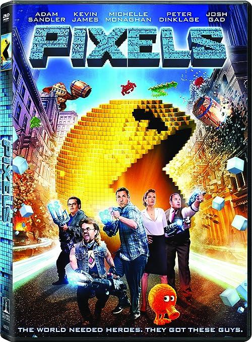 Amazon com: Pixels: Adam Sandler, Kevin James, Michelle