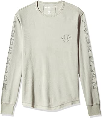 9fed0272c0f True Religion Men s Long Sleeve Thermal with Studded Graphics at ...