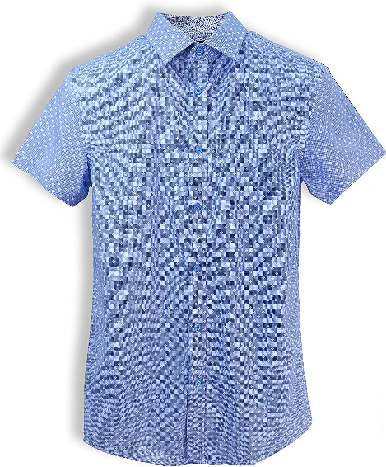 English Laundry Short-Sleeve Dots Shirt