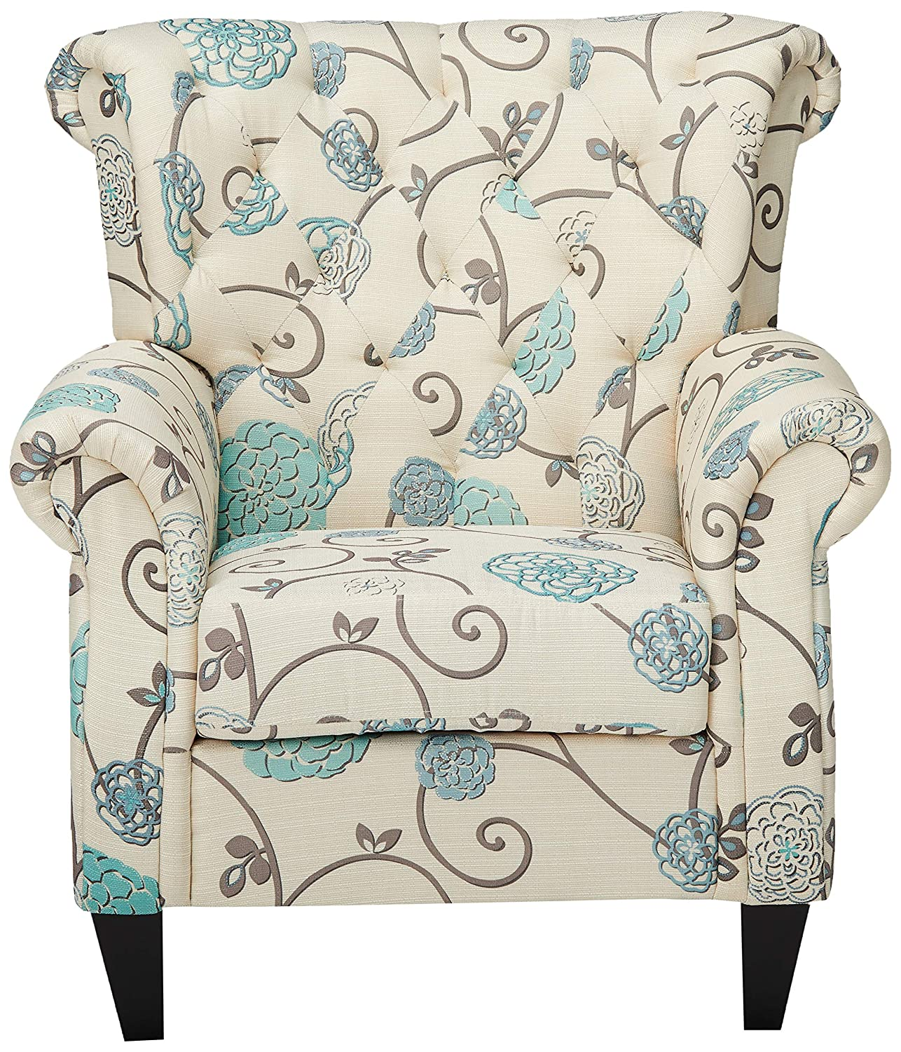 Furniture Armchairs Furniture GDF Studio Solvang White and