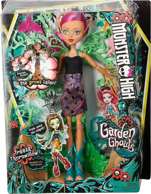 Amazon.es: Monster High- Ninfas, Treesa Thornwillow (Mattel ...