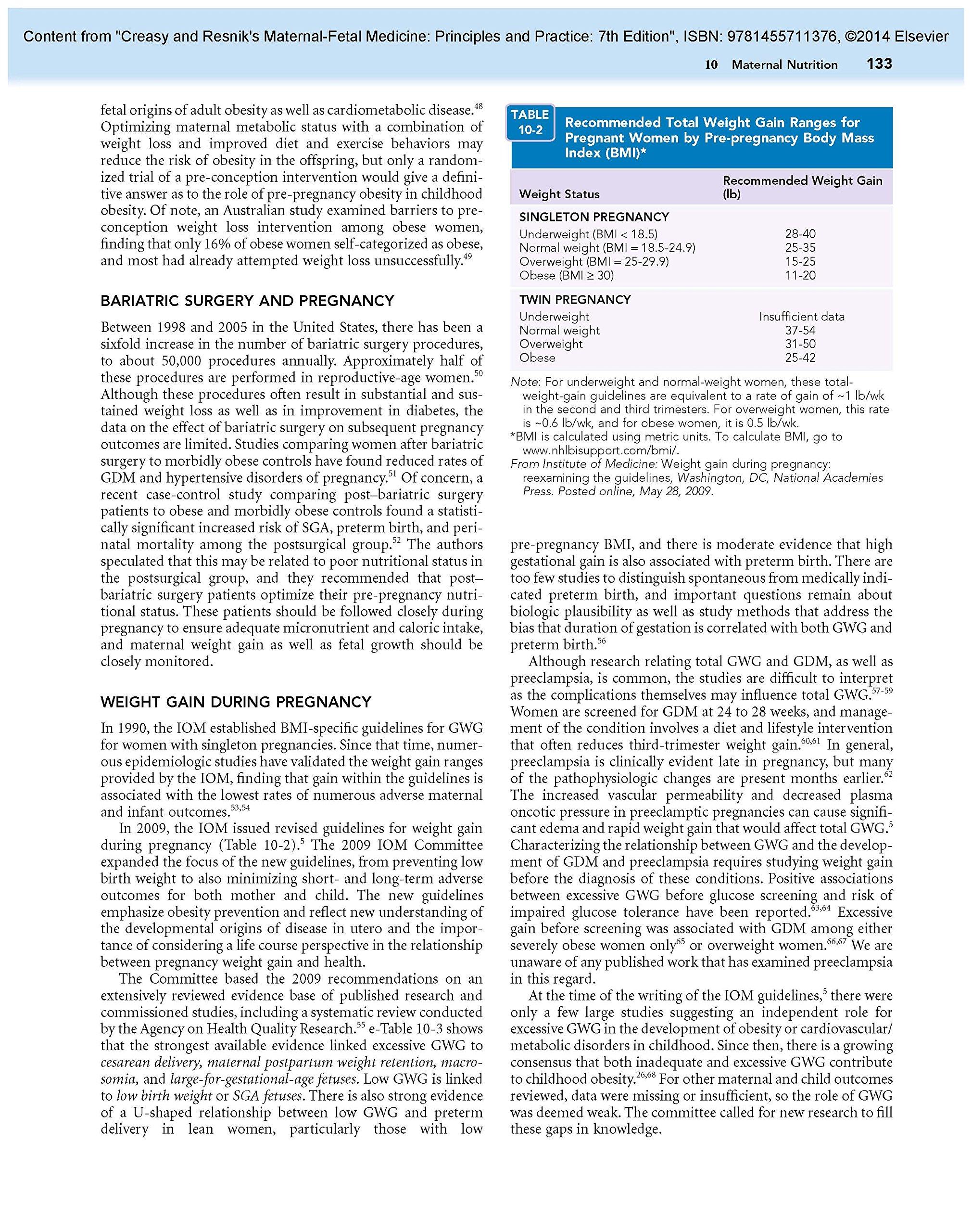Creasy and Resnik's Maternal-Fetal Medicine: Principles and Practice, 7e