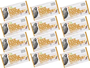 DNX Bar -Free Range Chicken Peri Peri Style Whole Food Protein Bar-Organic Spices, Gluten Free, Whole30 Approved, Keto Protein Bar with a Truly Epic Taste (12 bars)