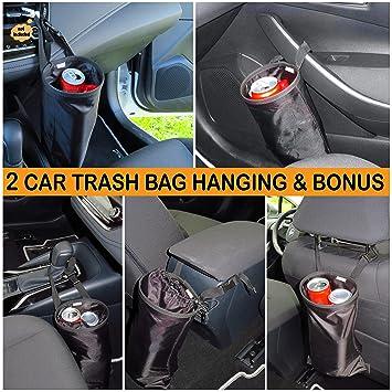 Amazon.com: B-comfort 2 bolsas de basura para coches y 2 ...