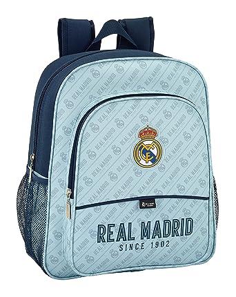 Safta Mochila Escolar Junior Real Madrid Corporativa Oficial 320x120x380mm: Amazon.es: Ropa y accesorios