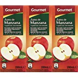 Gourmet Zumo de Manzana - Pack de 3 x 20 cl - Total: 600 ml