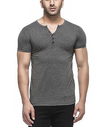 67a27aa09e8 Tinted Men s Solid Slim Fit T-Shirt (TJ103RH Anthera Medium)