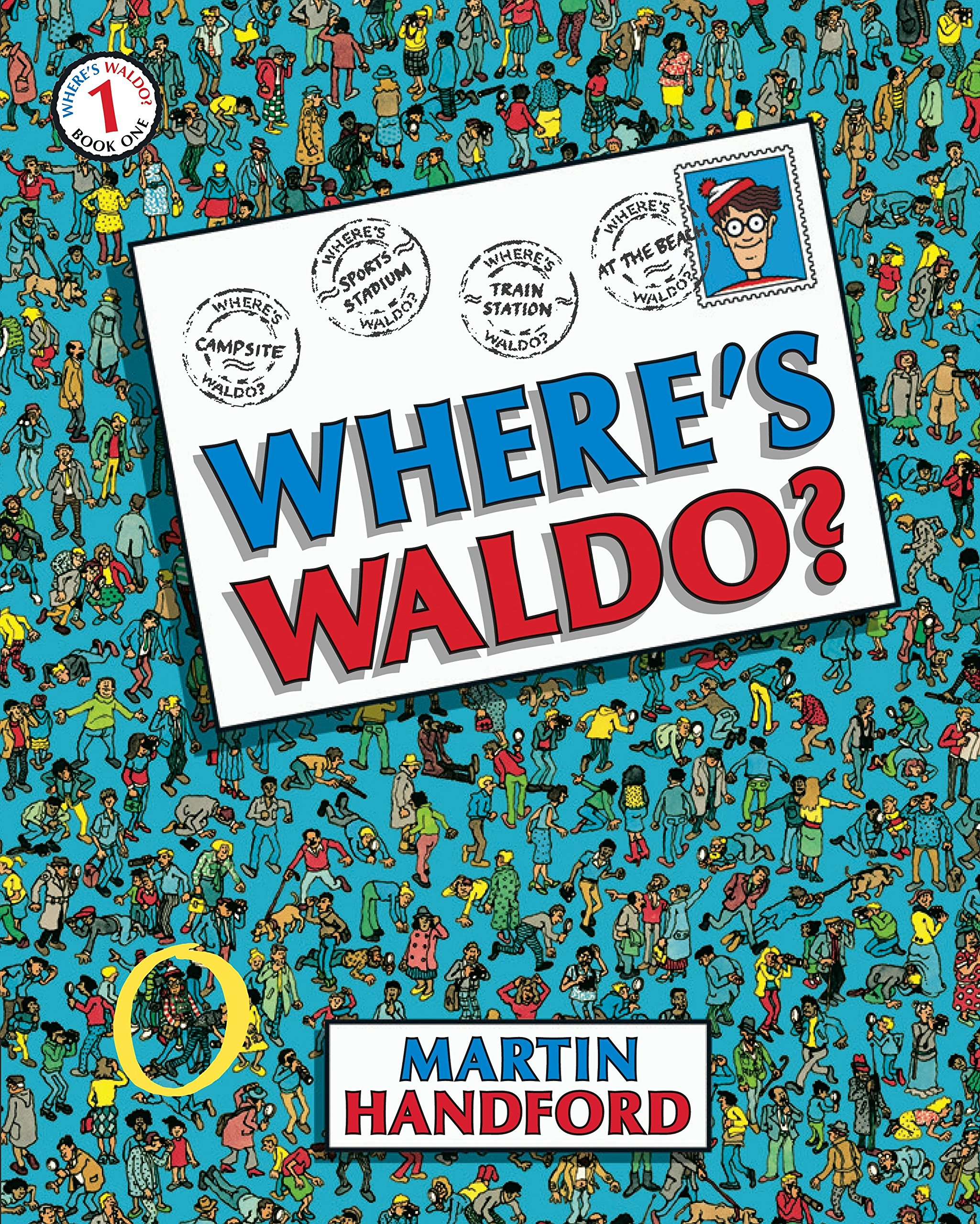 Where's Waldo?: Handford, Martin, Handford, Martin: 8601422036985:  Amazon.com: Books