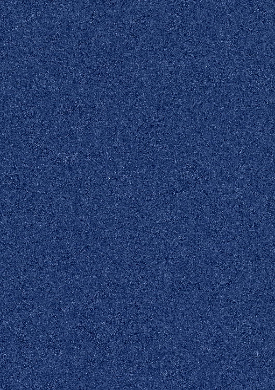 Pavo Einbanddeckel-Lederoptik DIN A4, 250 g/m², 100-er Pack, dunkelblau 250 g/m² Pavo Sales B.V 8036042