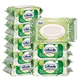 Cottonelle GentlePlus Flushable Wet Wipes with Aloe & Vitamin E, 84 Count, Pack of 8