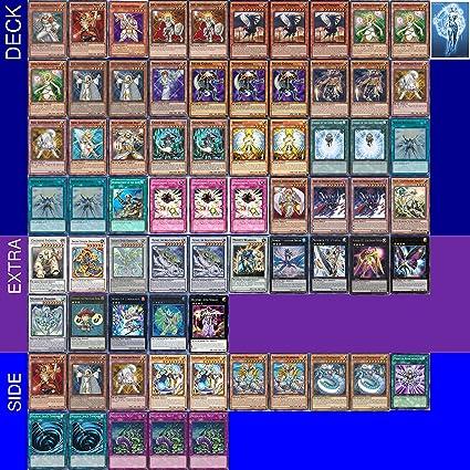 Amazon yugioh tournament ready lightsworn deck with complete yugioh tournament ready lightsworn deck with complete extra side deck and exclusive phantasm gaming token aloadofball Image collections
