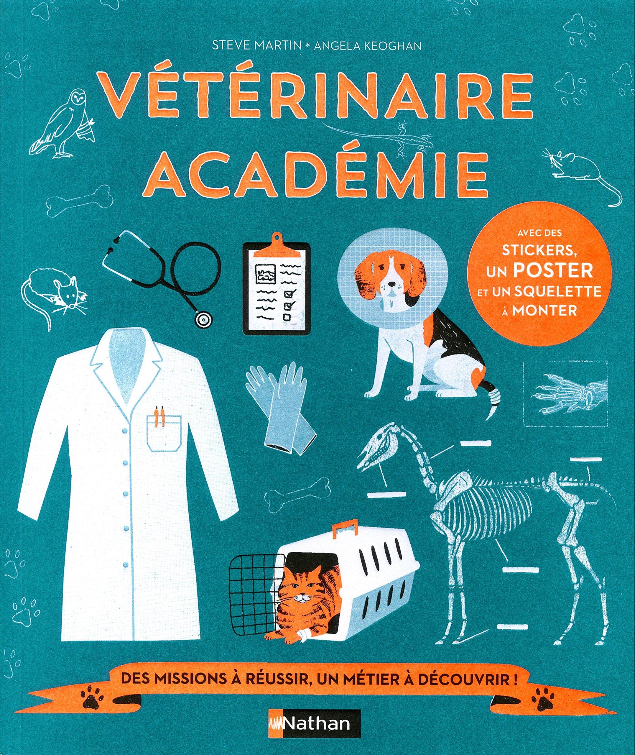 Amazon Fr Veterinaire Academie Livre Jeu Des 7 Ans