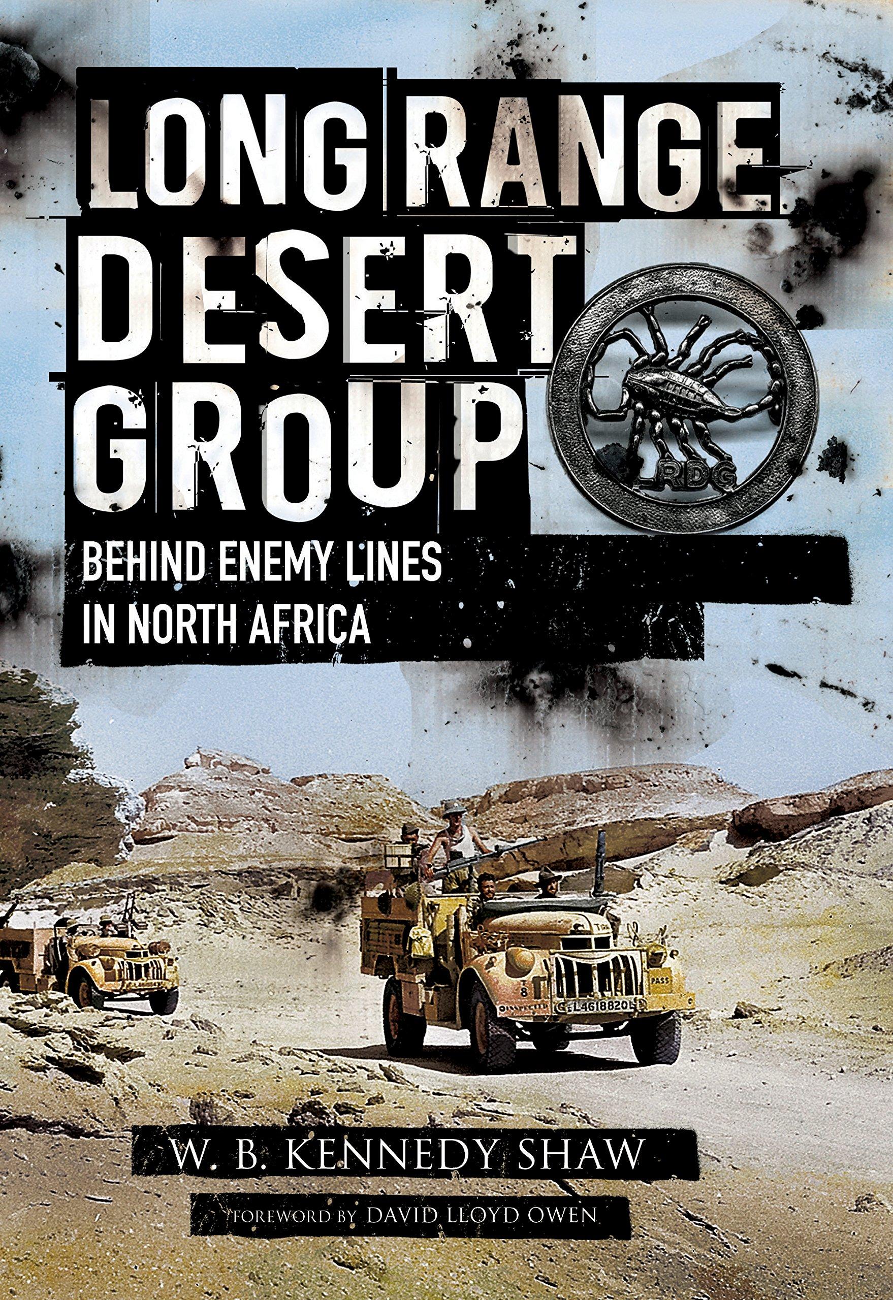 Army Notebook Lrdg Long Range Desert Group