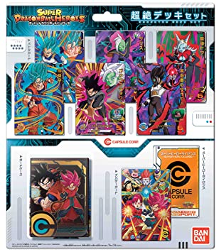 Super Dragon Ball Heroes Chosetsu Card Deck Set Cartas ...