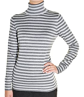 00b8f308e0 Joseph A. Women s Turtle Neck Long Sleeve Sweater (Large