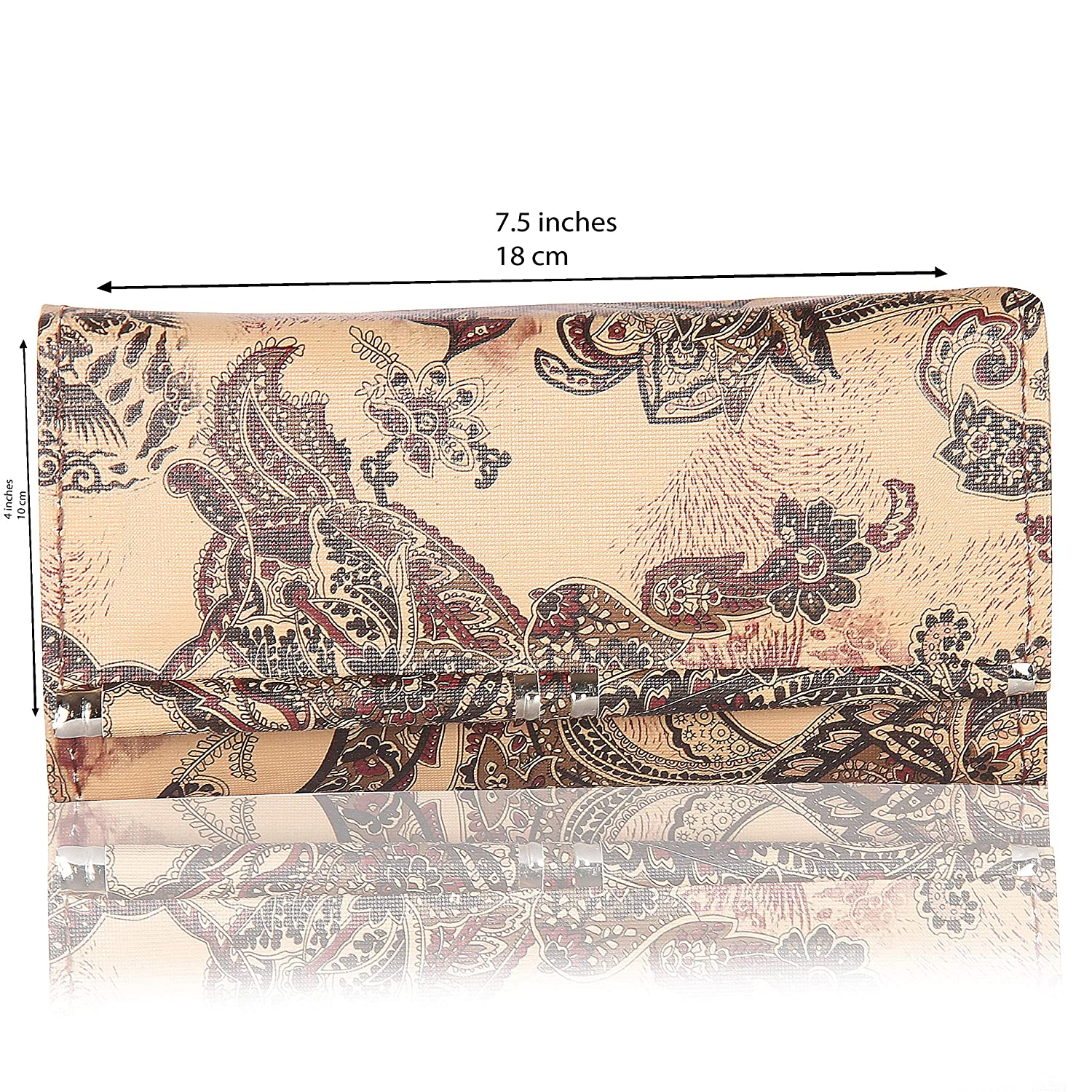 Women Teens Clutch Wallet Floral designs 5 Styles Available