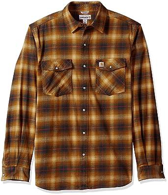 Mixcubic 2017 Spring Autumn England Style Unique Orange Gray Big Plaid Shirts For Men Casual Slim