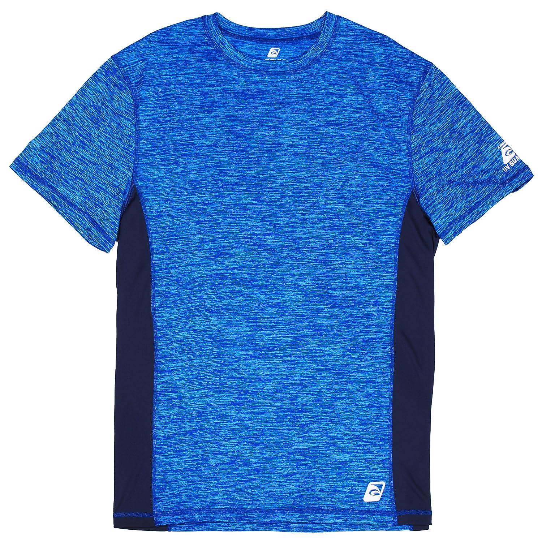 Lagunaメンズ UPF 50+ライフガードルーズフィットラッシュガード B075RKBFMW Small Amparo Blue (778) Amparo Blue (778) Small