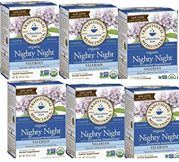 Image Unavailable. Image not available for. Color  Traditional Medicinals  Nighty Night Valerian(Pack ... d3022b961