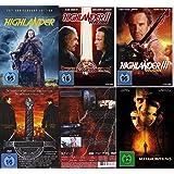 HIGHLANDER 1 2 3 4  - KOMPLETTE SAGA + Bonusfilm METAMORPHOSIS  5 DVD Complete Collection