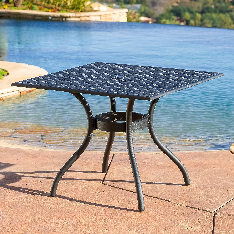 Amazon com  Marietta 5pc Outdoor Cast Aluminum Dining Set  Kitchen   DiningAmazon com  Marietta 5pc Outdoor Cast Aluminum Dining Set  Kitchen  . Outdoor Dining Chairs Only. Home Design Ideas