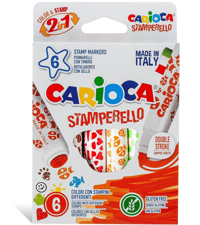 Carioca - Pennarelli con forme colorate Universal SpA 42279