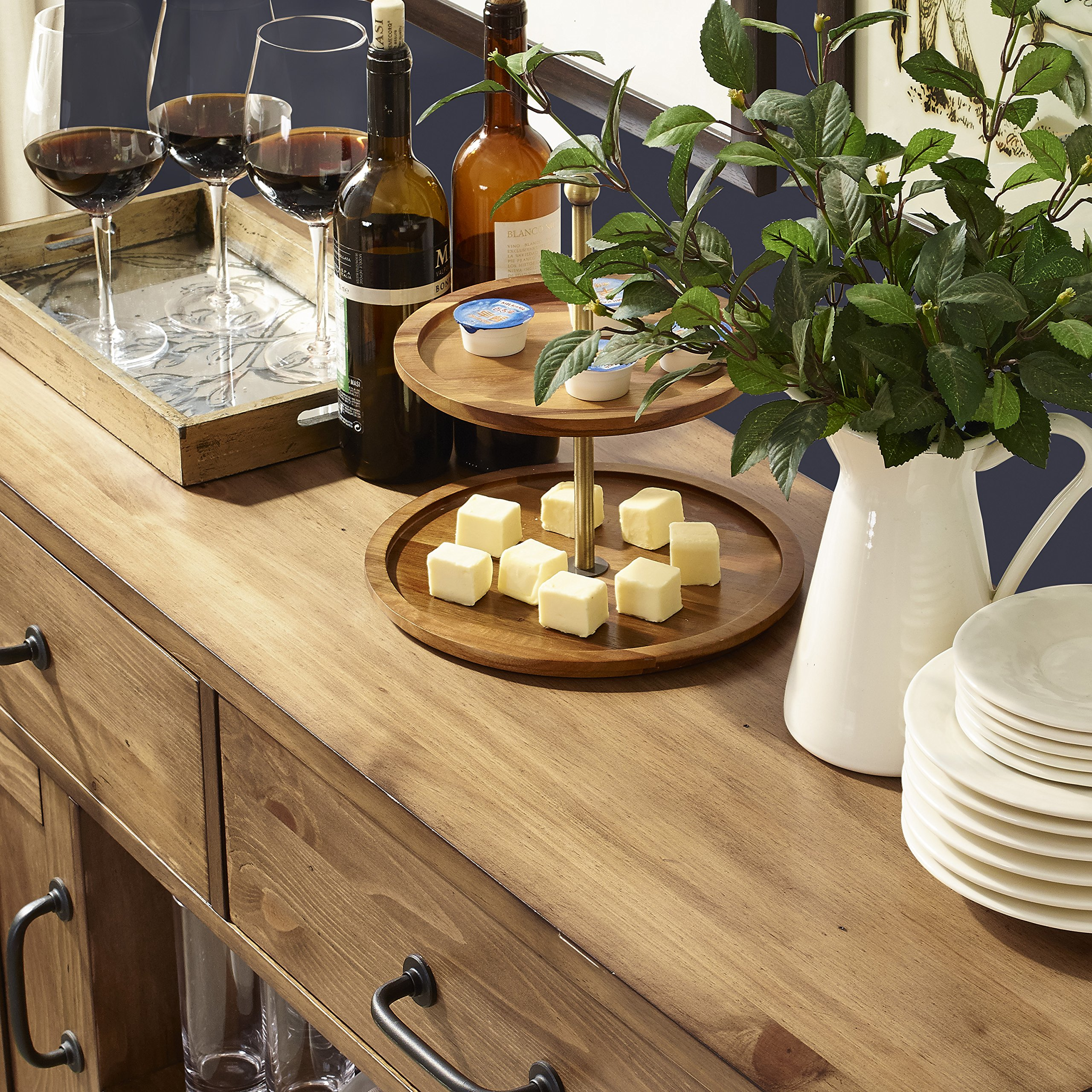 Crosley Furniture Roots Buffet Dining Room Storage - Natural by Crosley Furniture (Image #8)