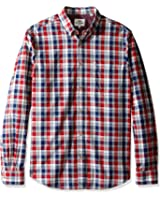 Ben Sherman Men's Long Sleeve Marl Multi Gingham