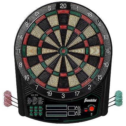 Franklin Sports Electronic Dartboard Set Digital Dartboard With Scoreboard Official Size 15 5 Safe Soft Tip Dartboard Fs6000