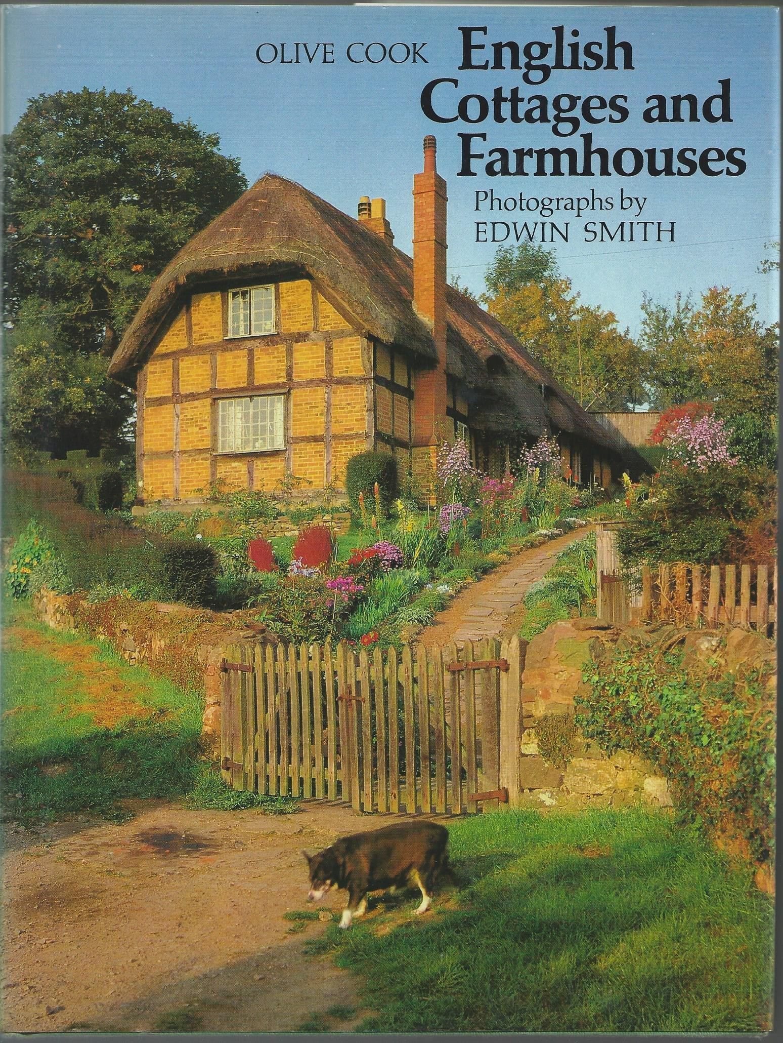 English Cottages And Farmhouses Olive Cook 9780500241141 Amazon
