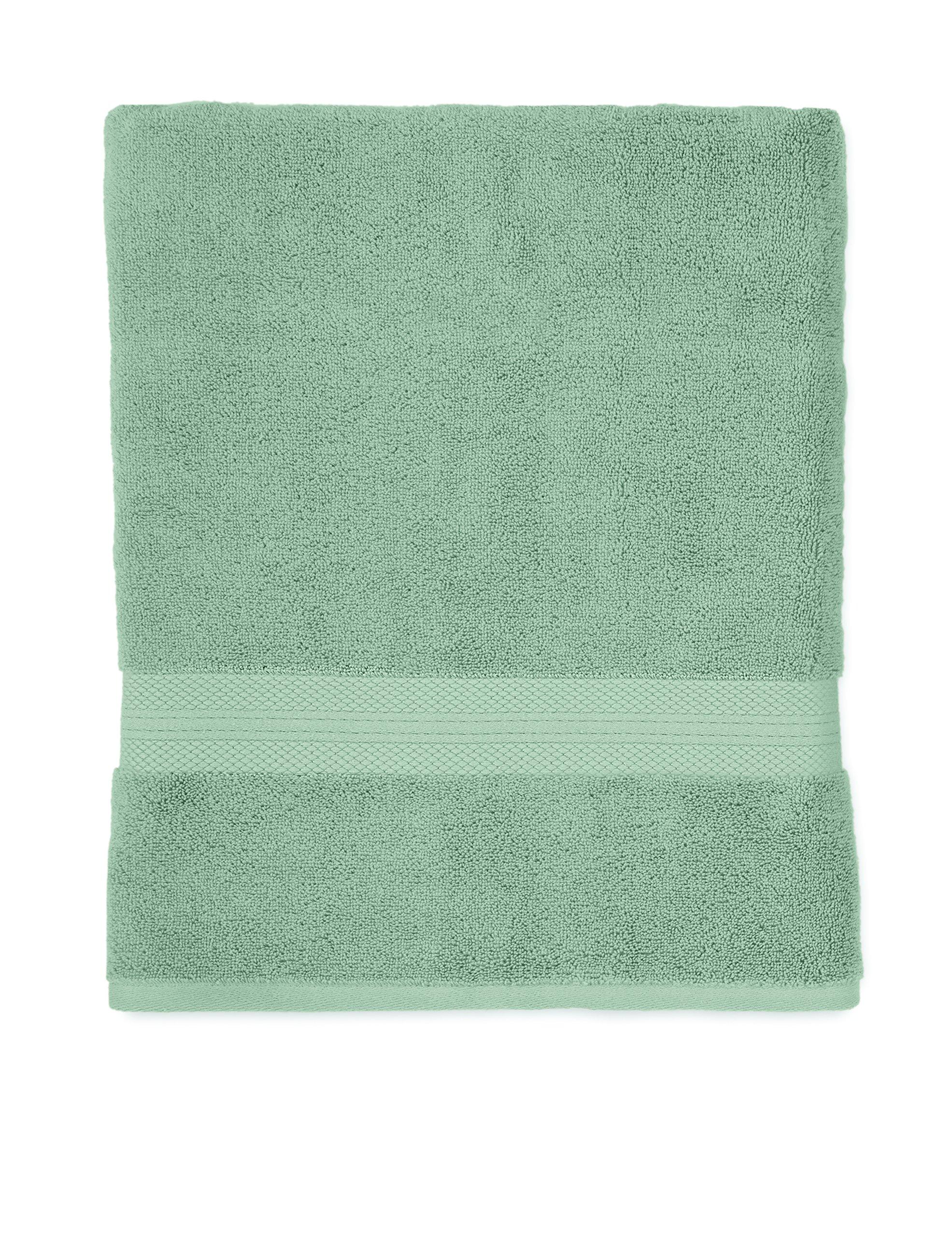 Martex Abundance Bath Towel, Deluxe Quality, Home, Guest - Machine Washable, Soft, Absorbent, Superior - Silver Sage