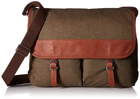 d44334fb36c5 Image Unavailable. Image not available for. Colour  Fossil Men s Buckner  Laptop Messenger Bag ...