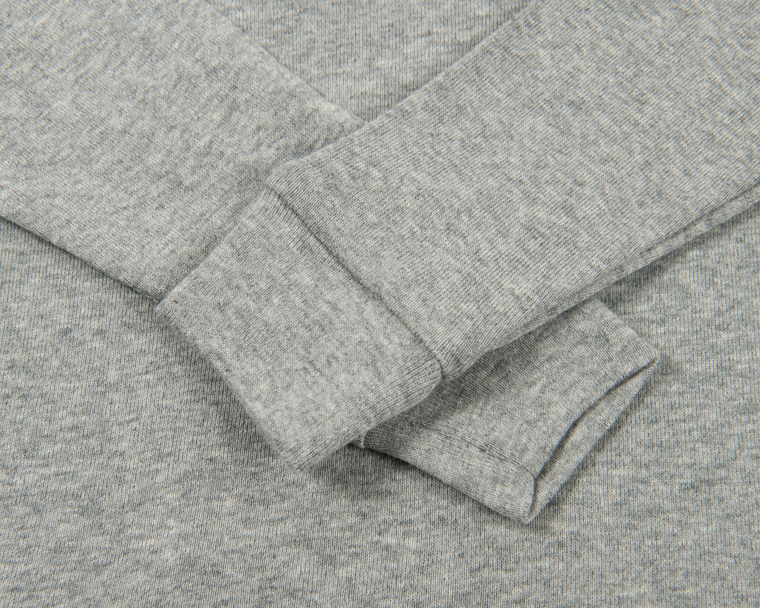 Leveret Solid Turtleneck 100% Cotton (8 Years, Light Grey) by Leveret (Image #4)