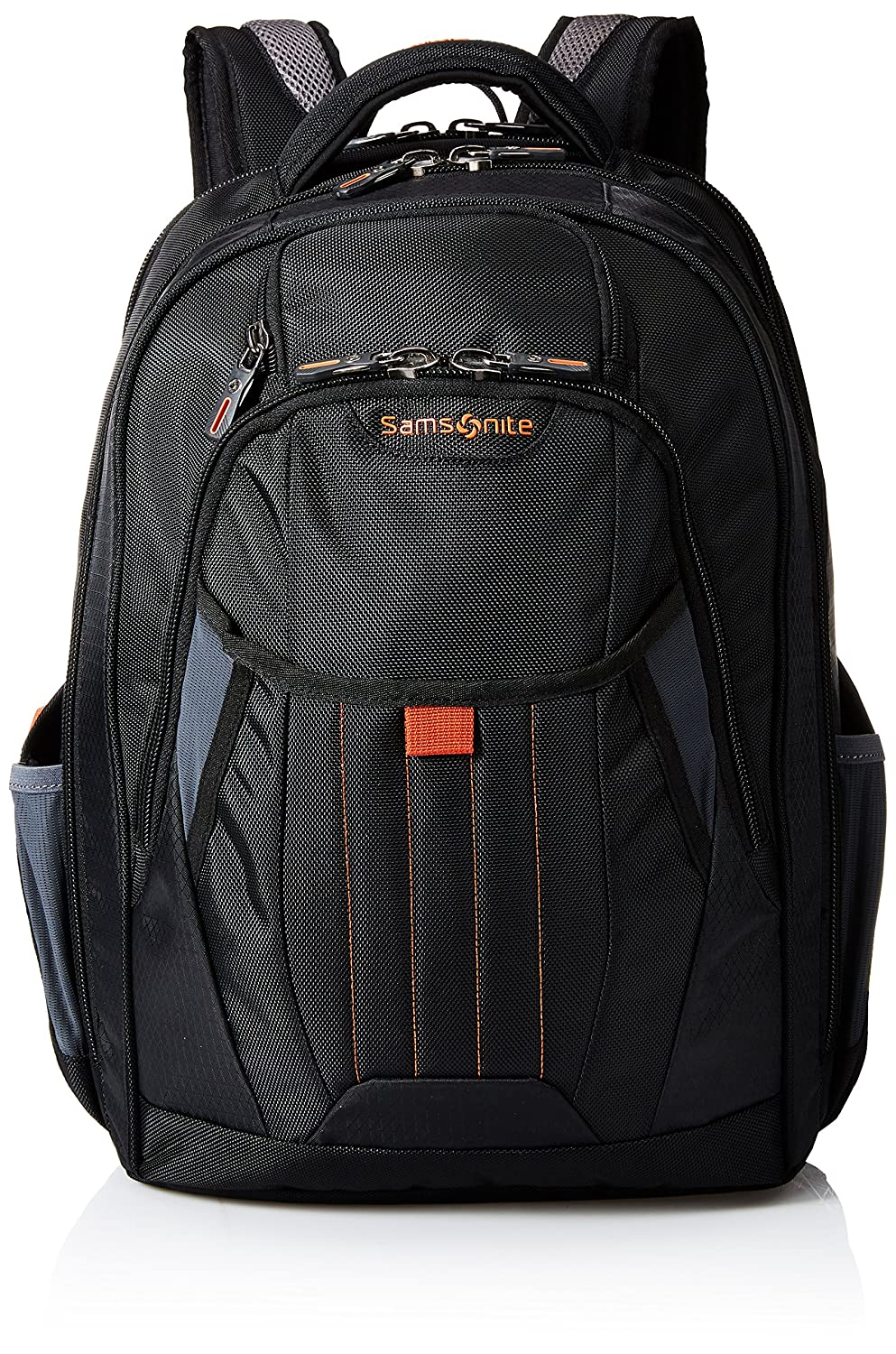$54.58 (was $110) Samsonite Tectonic 2 Laptop Large Backpack, Black/Orange, International Carry-On$
