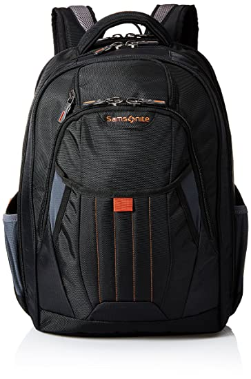dd3013d35e2e9 Amazon.com | Samsonite Tectonic 2 Large Backpack, Black/Orange ...