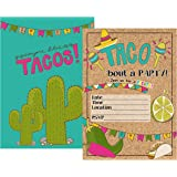 amazon com taco twos day adorable 2nd birthday fiesta party