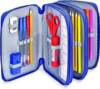 Faber-Castell 570052 estuche, azul marino: Amazon.es: Oficina y papelería