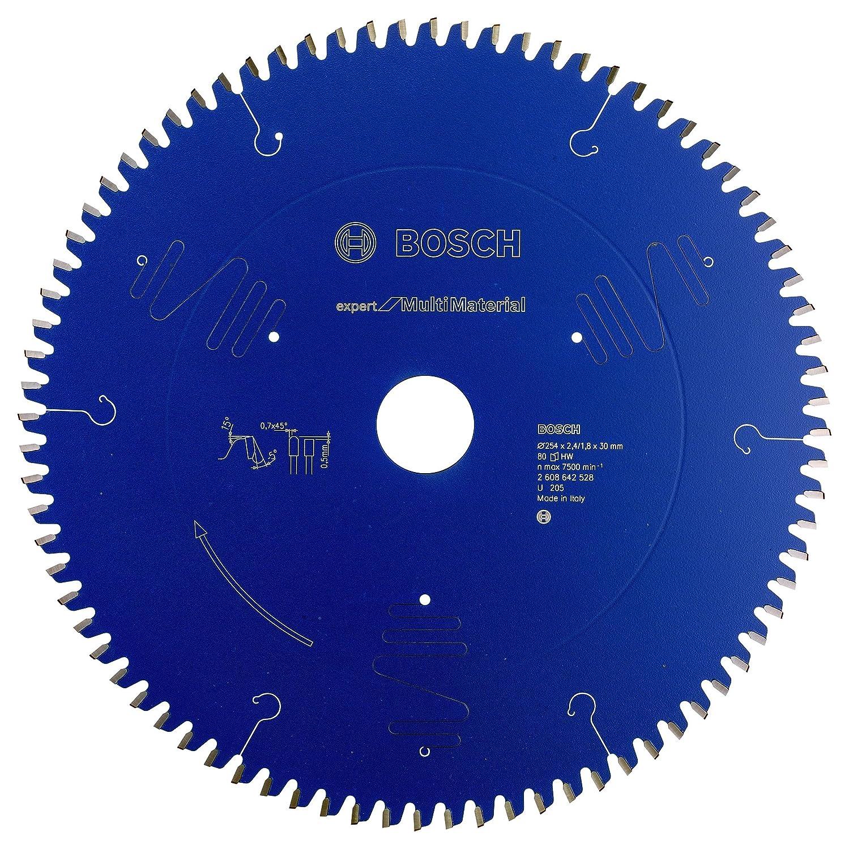 Bosch 2608642528 254mm X 30mm X 80t Multi Material Circular Saw Blade B008HRGQUQ