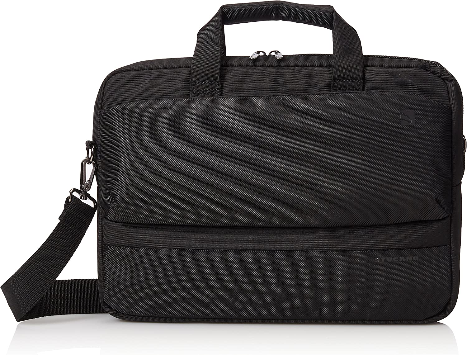 Tucano Dritta Slim Laptop Bag - 14 Inch (Black)