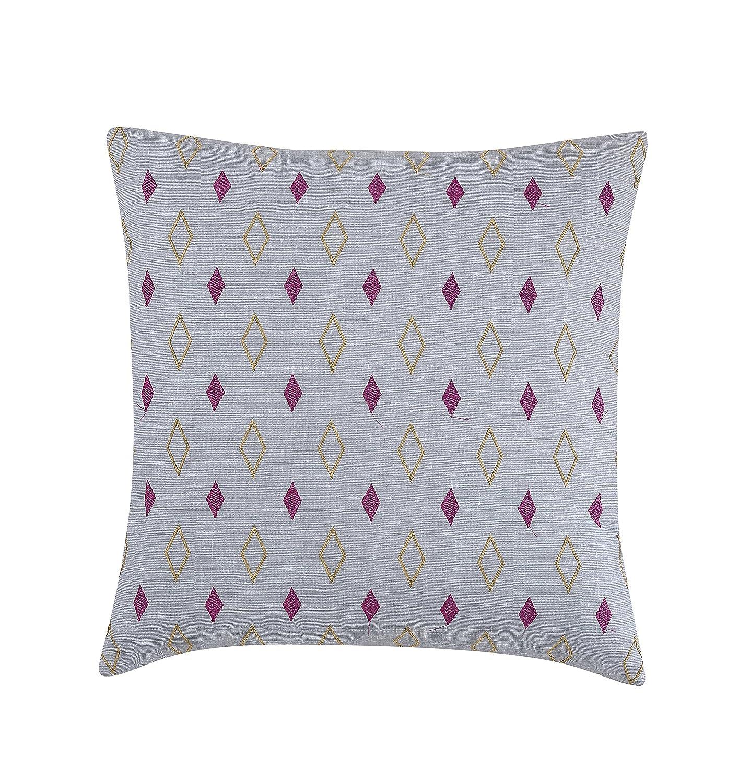 Full//Queen Comforter Set Gray Lemon /& Spice Nolan 4 Piece